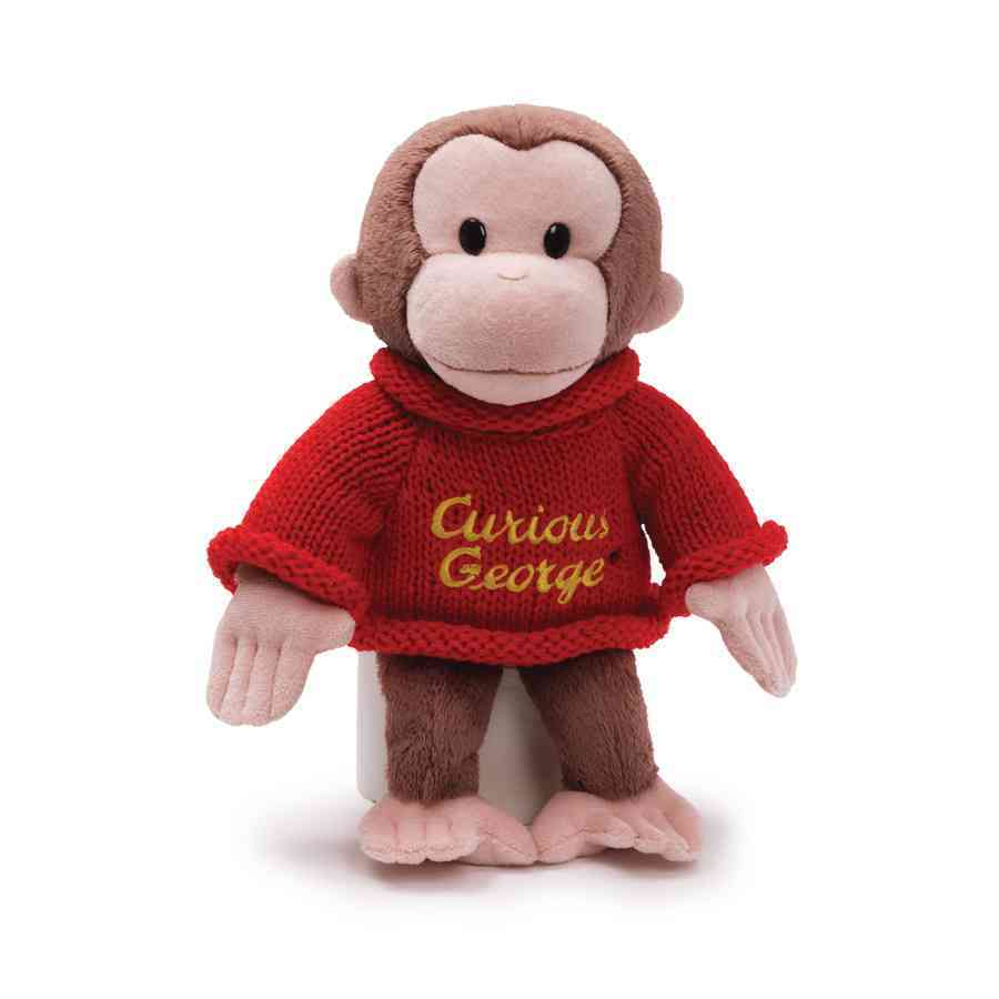 Curious George Sweater By Not Available
